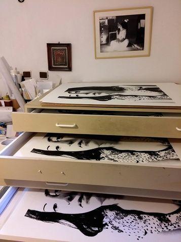 workshop 29 Prints  in draining