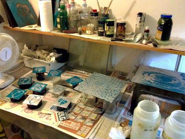 workshop 17 etching plates