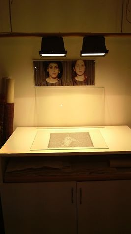 workshop 7  Photographic transfer to metal plate / Network Print