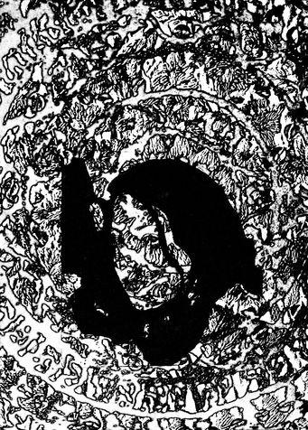 miriam 28 photo-etching & aquatint, 2004, 30*40 cm