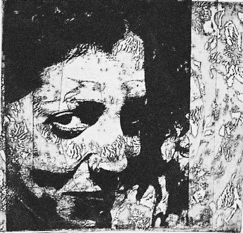 miriam 34 photo-etching & aquatint, 2004, 20*20 cm