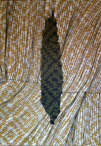 cypess13 screen print on paper, 2005, 70*100 cm