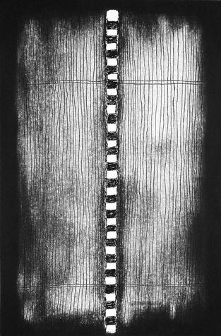 embedded 12 etching & aquatint, 1997, 40*60 cm
