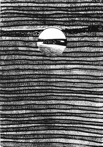 embedded 10 photo-etching & aquatint, 1995, 30*41 cm