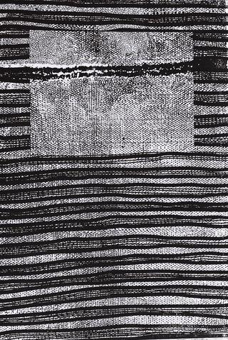 embedded 9 photo-etching & aquatint, 1995, 30*41 cm