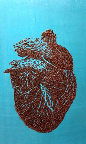 heart 20 photo, zinc