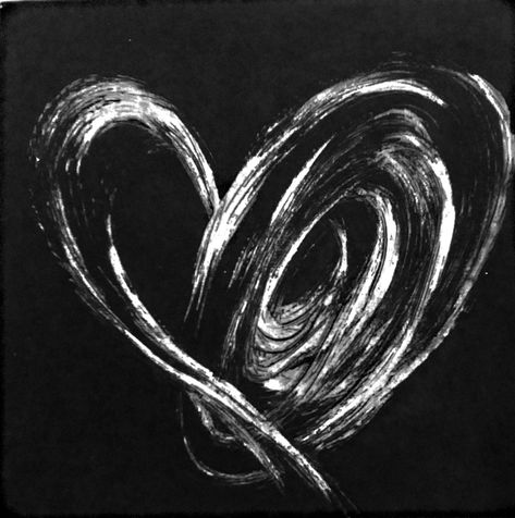 heart 31    etching, 2014, 23*23 cm